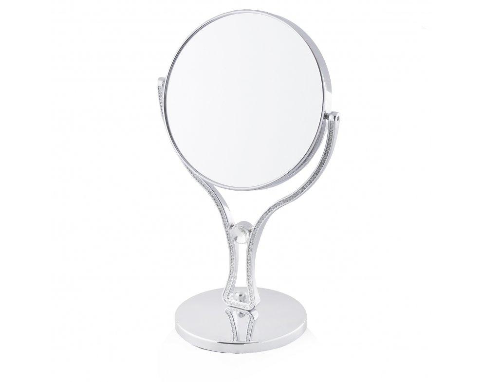 Zrkadielko  DIAMANTO Strieborná