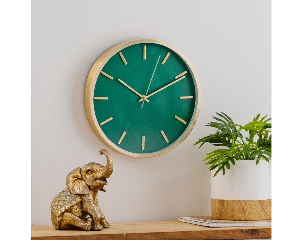 Nástenné hodiny PAMPELON ZELENÁ