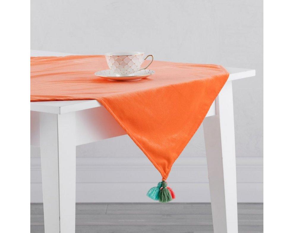 Behún na stôl LUNGO ORANŽOVÁ