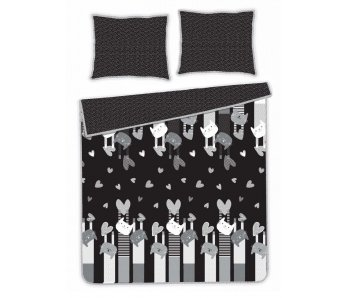 Komplet posteľná bielizeň Catiger