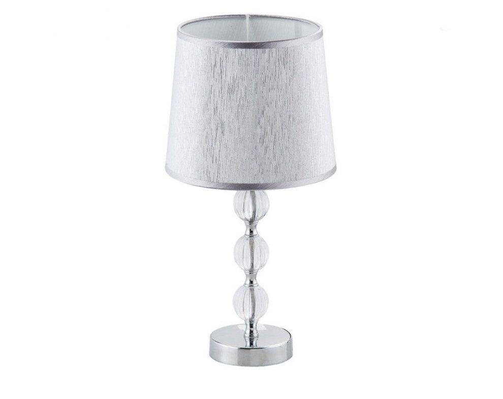 Stolná lampa TRIO SFERE STRIEBORNÁ