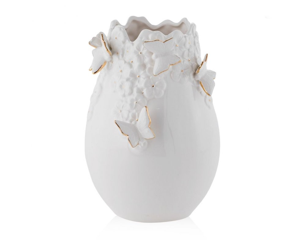 Váza MARIPELLA BIELA