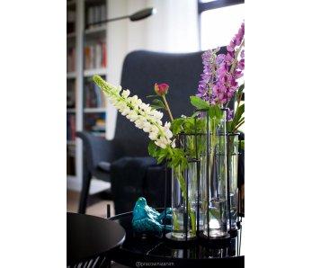Váza PIPE ČIERNA