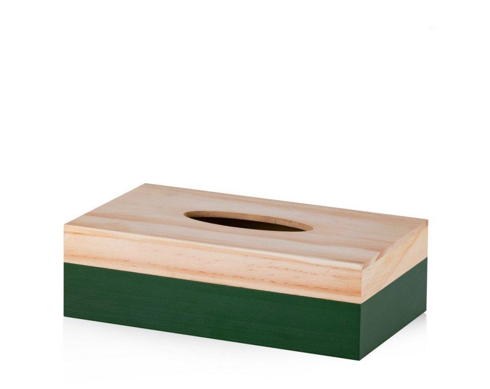 Krabička na obrúsky DRITTO ZELENÁ
