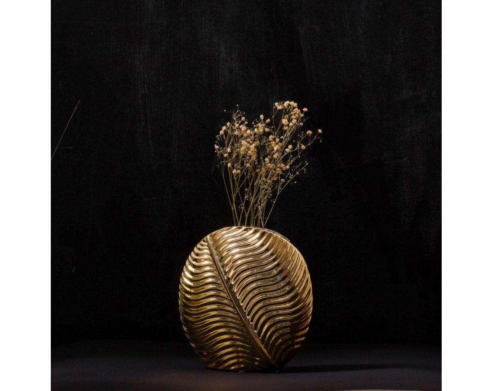 Váza LEAF ROUND