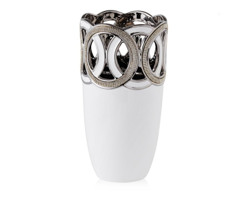 Váza ROUNDO TUBE BIELA