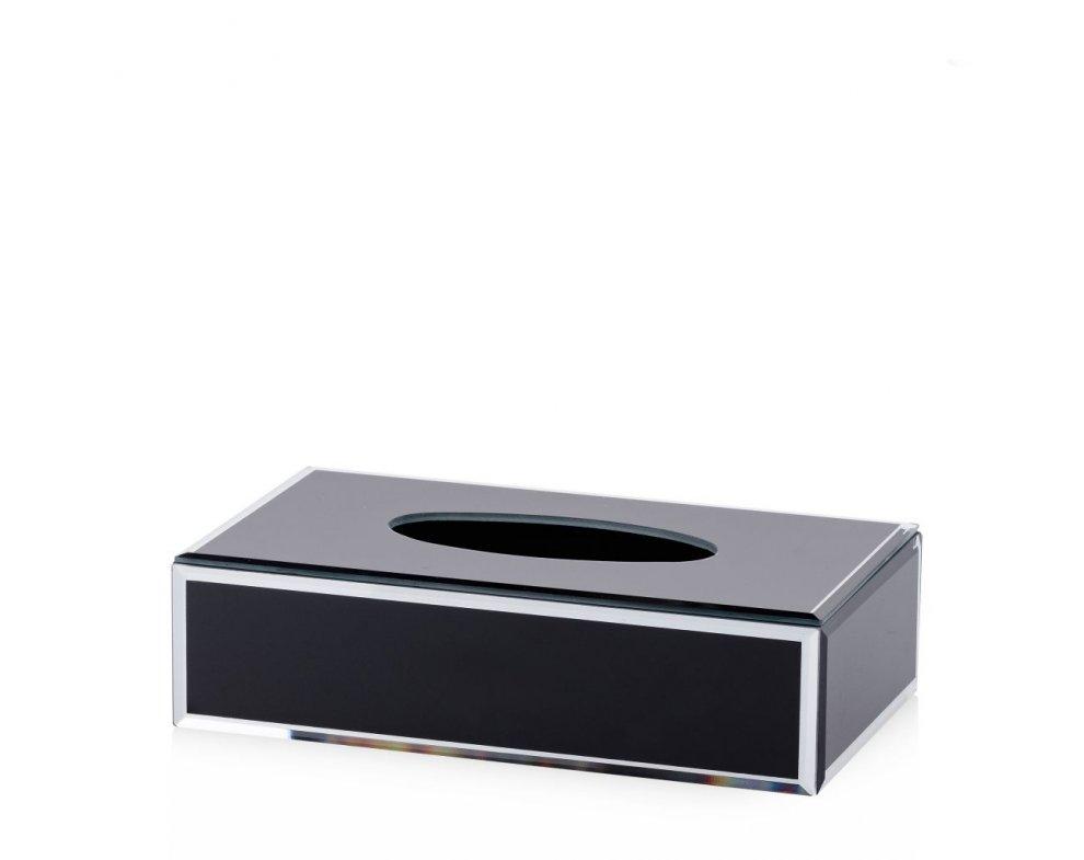 Krabička na obrúsky MEDELIN ČIERNA