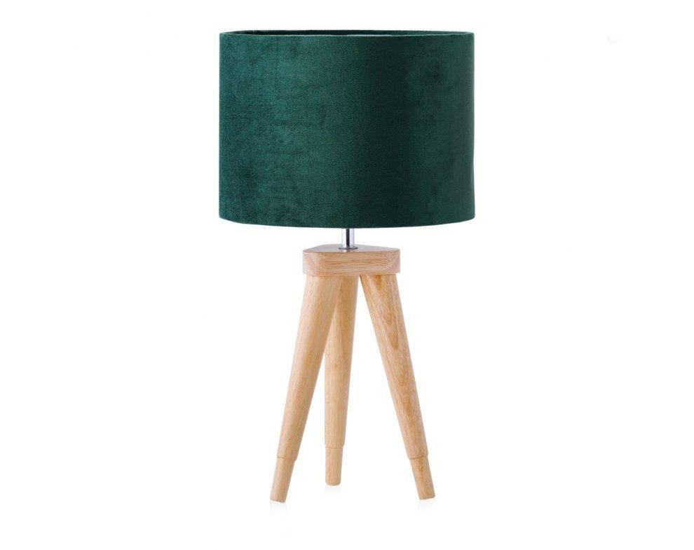 Stolná lampa AURILO ZELENÁ