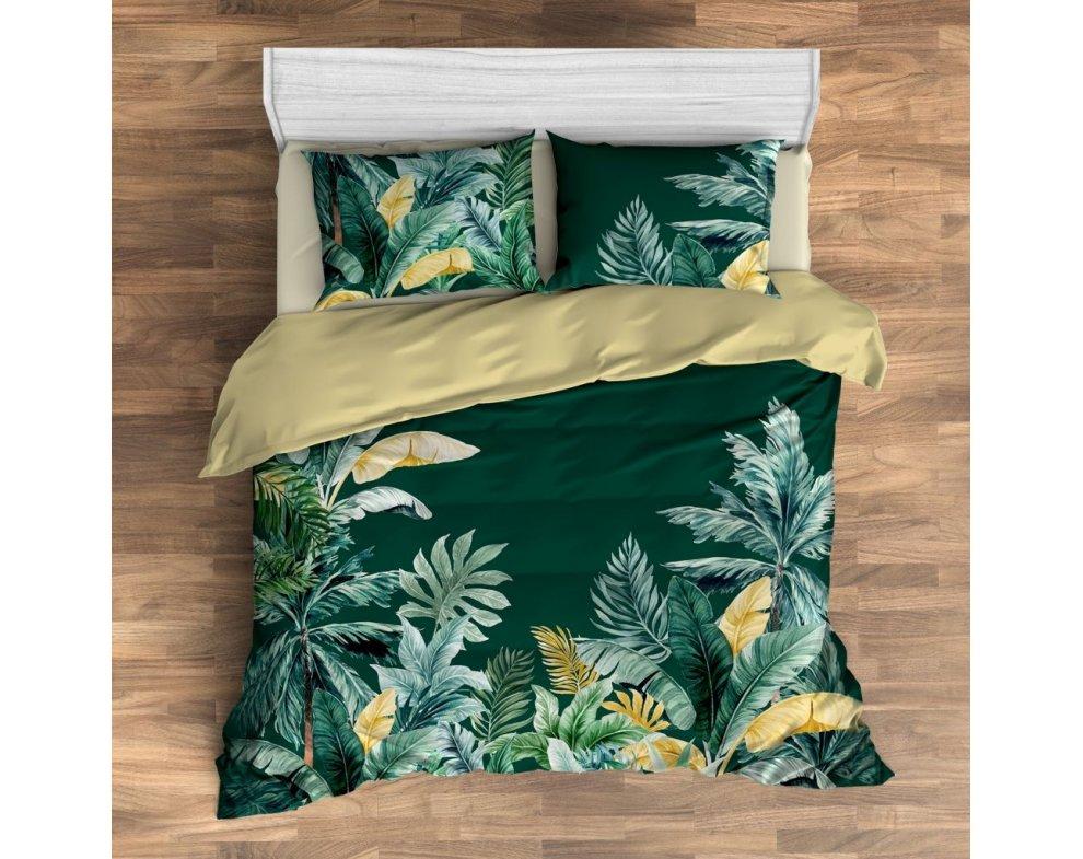Saténová posteľná bielizeň BANTEN