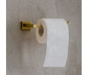 Držiak na toaletný papier MODERNO - zlatý