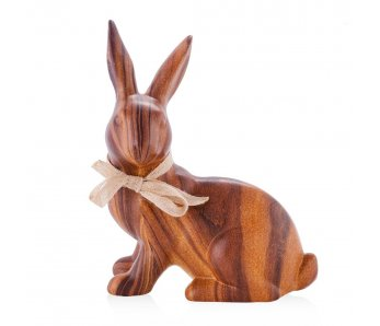 Drevený veľkonočný zajac WOODENRABBIT