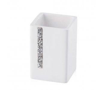 Šálka do kúpeľne DIAMENTUM 2 BIELA