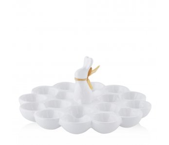 Misa na vajíčka BUNNY RAFIA