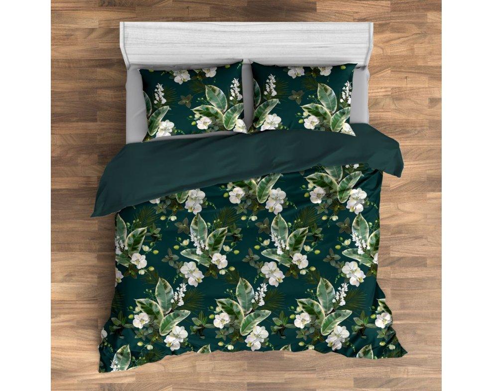 Saténová posteľná bielizeň MISTICO
