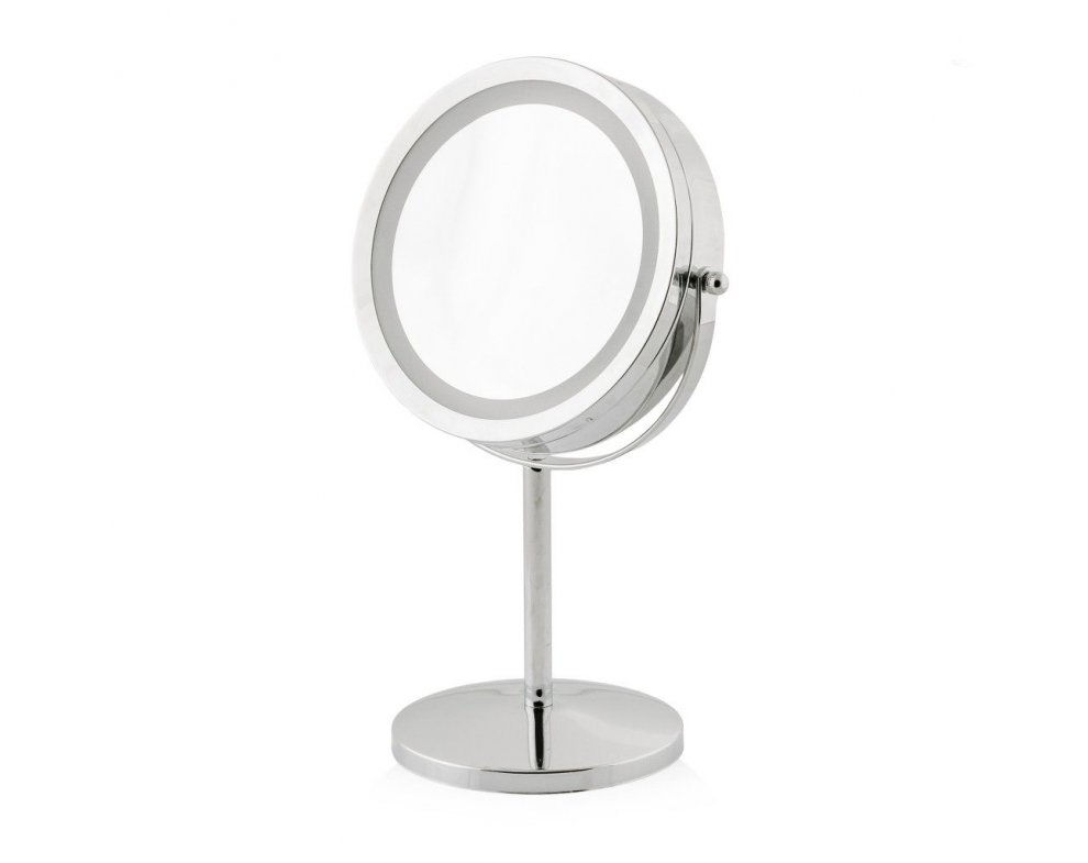 LED zrkadlo USUAL STRIEBORNÁ