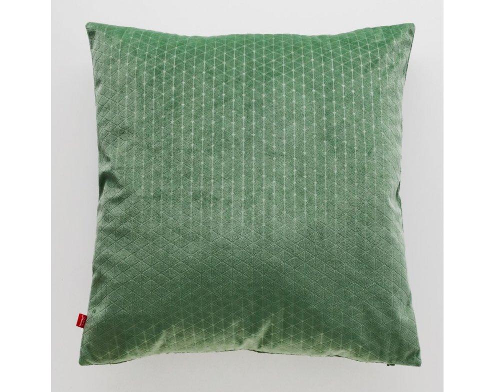 Poťah na vankúš METRIC zelený
