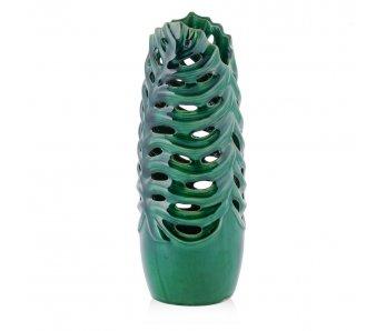 Váza PALMA ZELENÁ