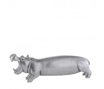 Figúrka HIPPO STRIEBORNÁ