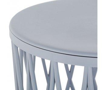Kávový stolík plastA SIVÁ