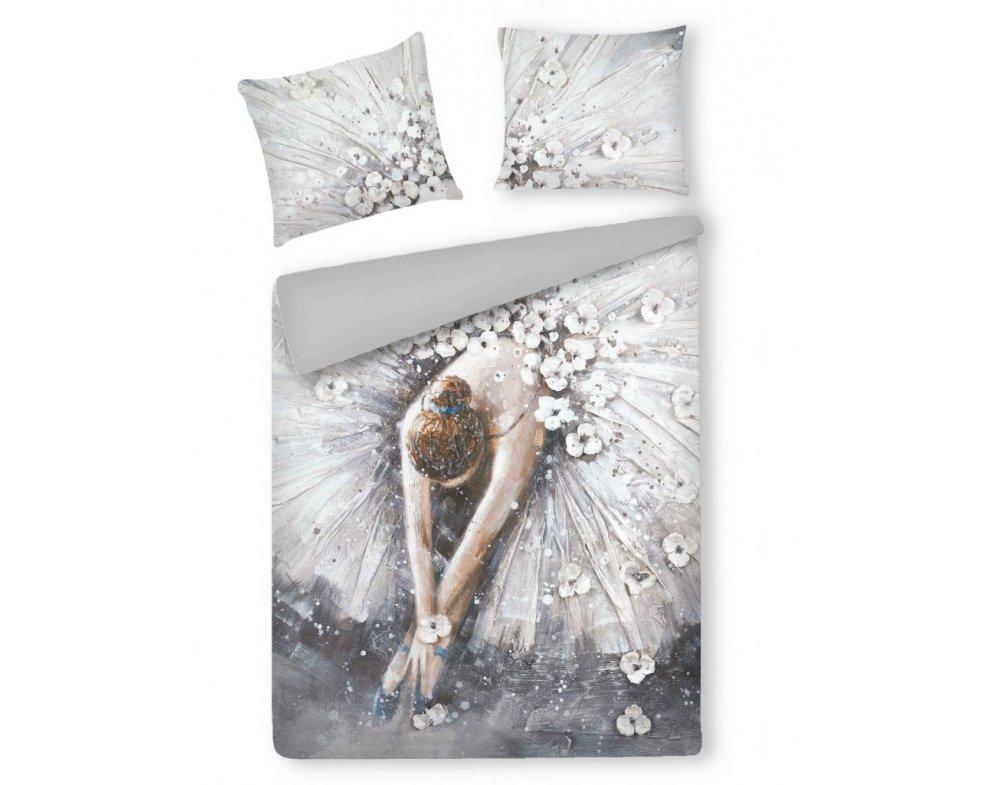 Saténová posteľná bielizeň CHERRYSLOPE 160x200