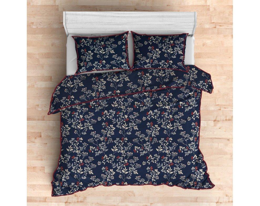 Saténová posteľná bielizeň GOJI 160x200
