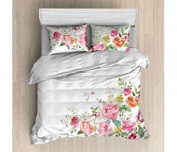 Saténová posteľná bielizeň MAORI 160x200