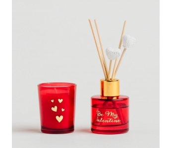 Osviežovač vzduchu so sviečkou VALENTINI