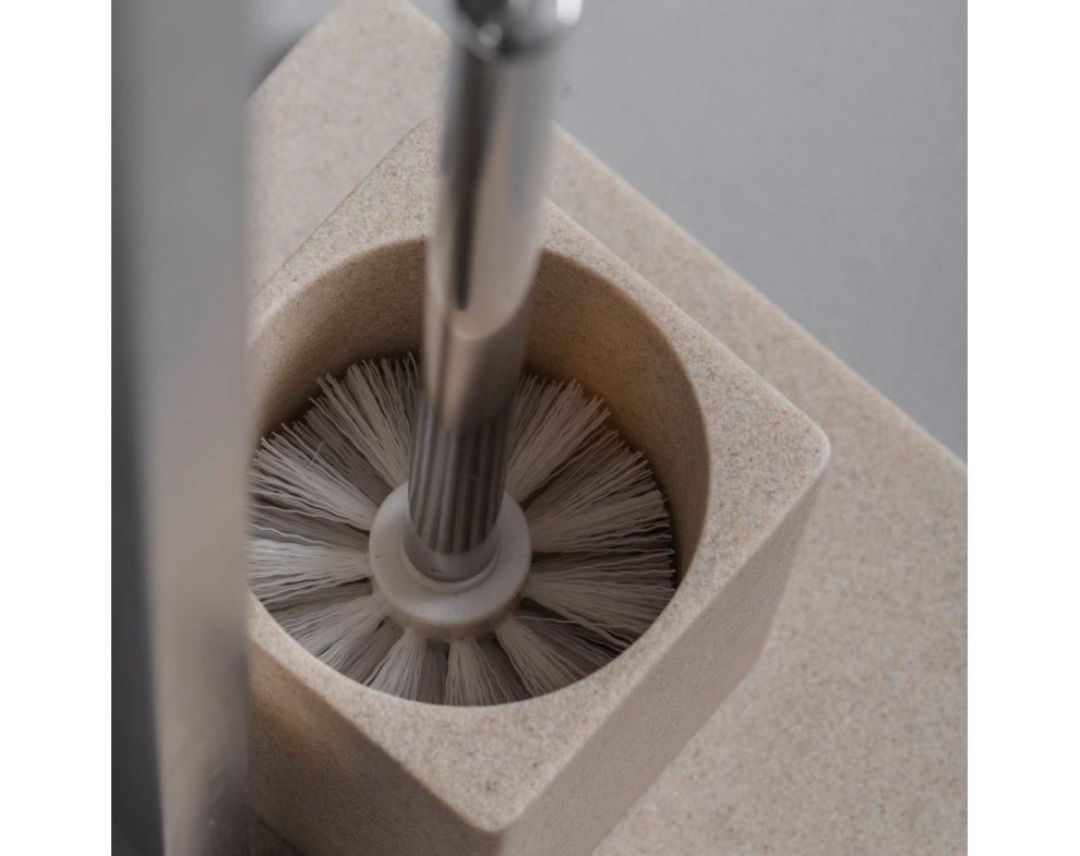 Stojan na toaletný papier s kefou NATURINO