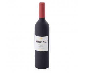 Set pohárov na víno PULLO 2 BIG ČIERNA