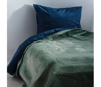 Prehoz na posteľ TRANG 2 tyrkys
