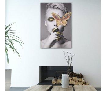 Exkluzívny obraz na stenu  BUTTERFLY