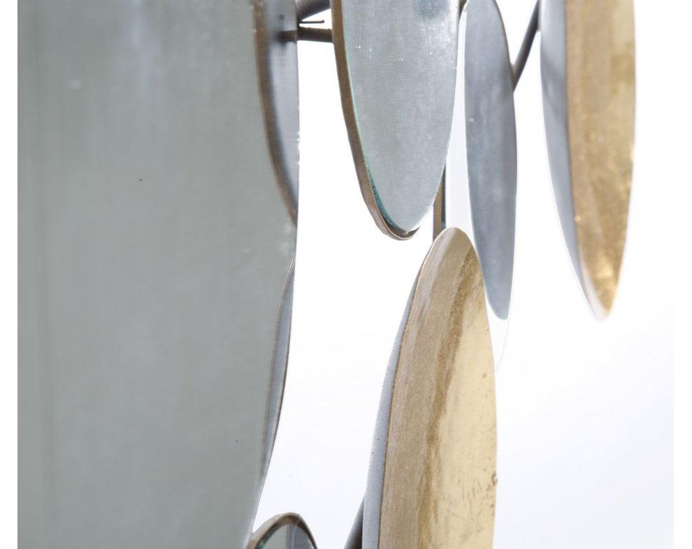 Zrkadkový panel na stenu GOLD MIRROR