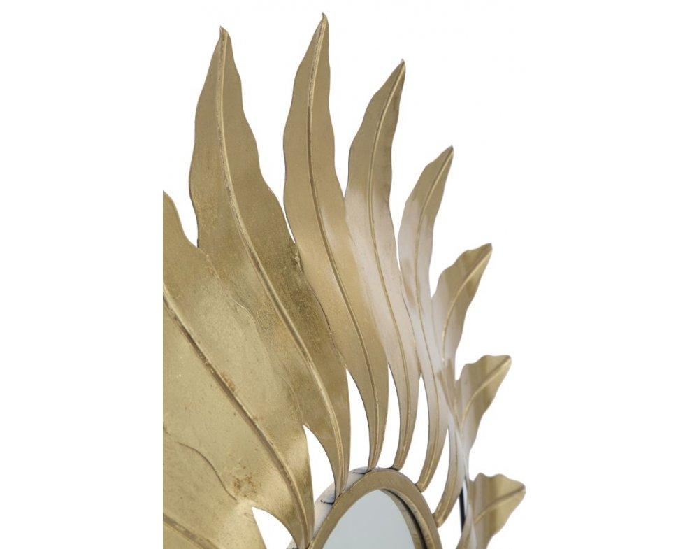Nástenné zrkadlo LEAF GLAM