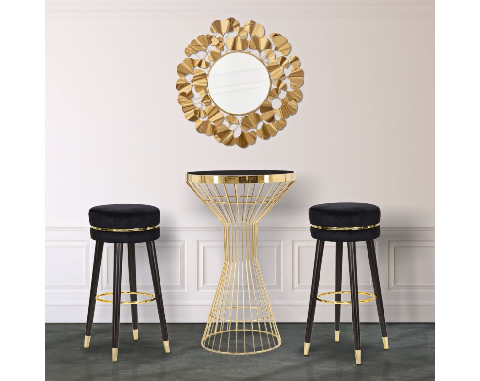 Barová stolička BAR PARIS - nero