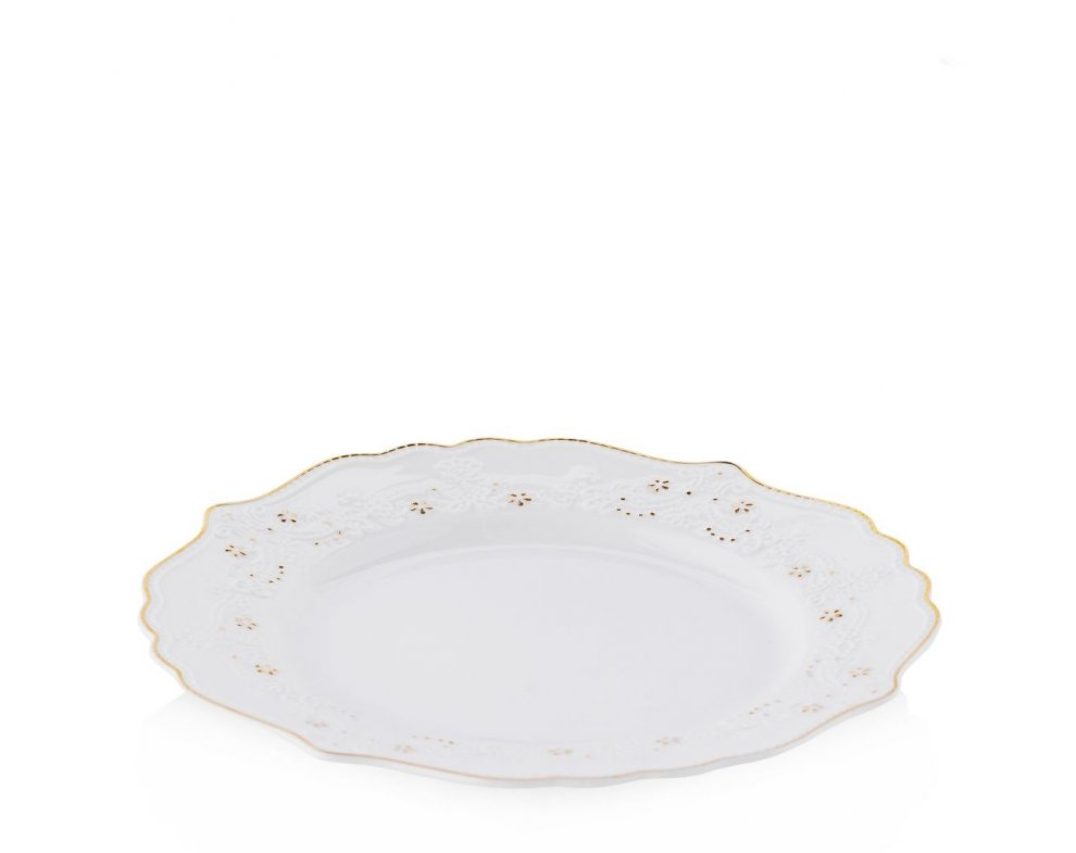 Dezertný tanier CHAPLETTA ECRU